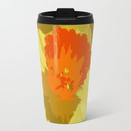 Spring Daffodil Vector Isolated Travel Mug