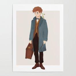 Newt Scamander Poster