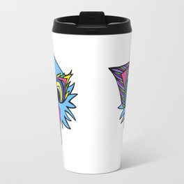 Ostrich Goes Pop Travel Mug