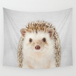 Hedgehog - Colorful Wall Tapestry