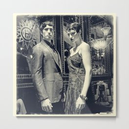 The Honeymooners (Orient Express-ions) Metal Print