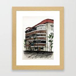 78 Yong Siak Road Framed Art Print
