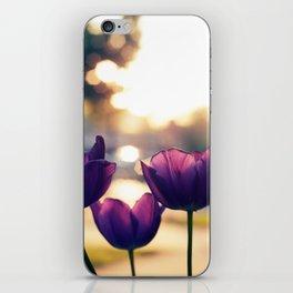 Sunrise Blooms iPhone Skin