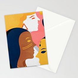Global Girlpower we persist v2 Stationery Cards