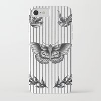 tattoos iPhone & iPod Cases featuring Harry's tattoos by Cécile Pellerin