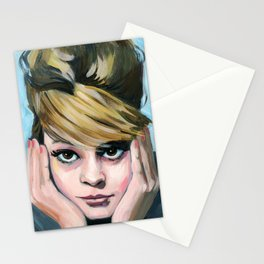 Contemplating  Stationery Cards