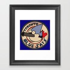 Toronto Mordecais Framed Art Print