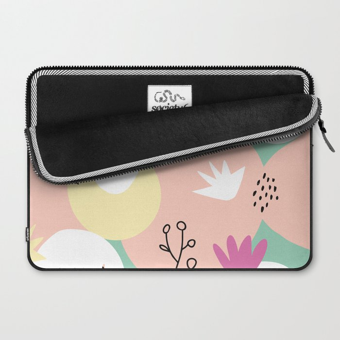 Pop of Color and Doodles Laptop Sleeve
