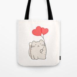Eli, the love cat Tote Bag