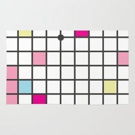 Memphis Block Pattern Rug