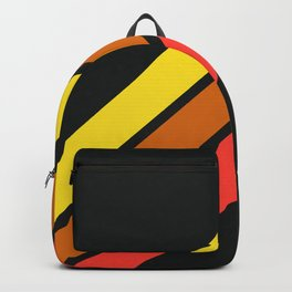 3 Retro Stripes #3 Backpack