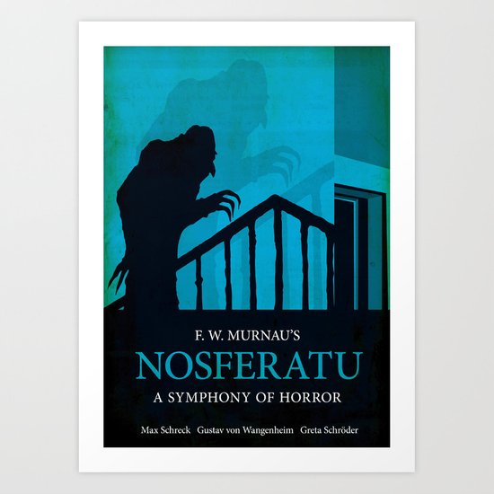 Nosferatu - A Symphony of Horror Art Print