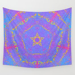 Star Fragments Wall Tapestry