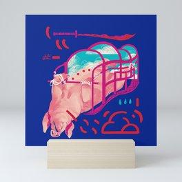 Crimson Sky Mini Art Print