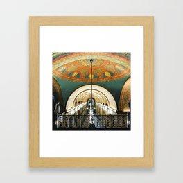 Art Deco Fisher Building Downtown Detroit Framed Art Print