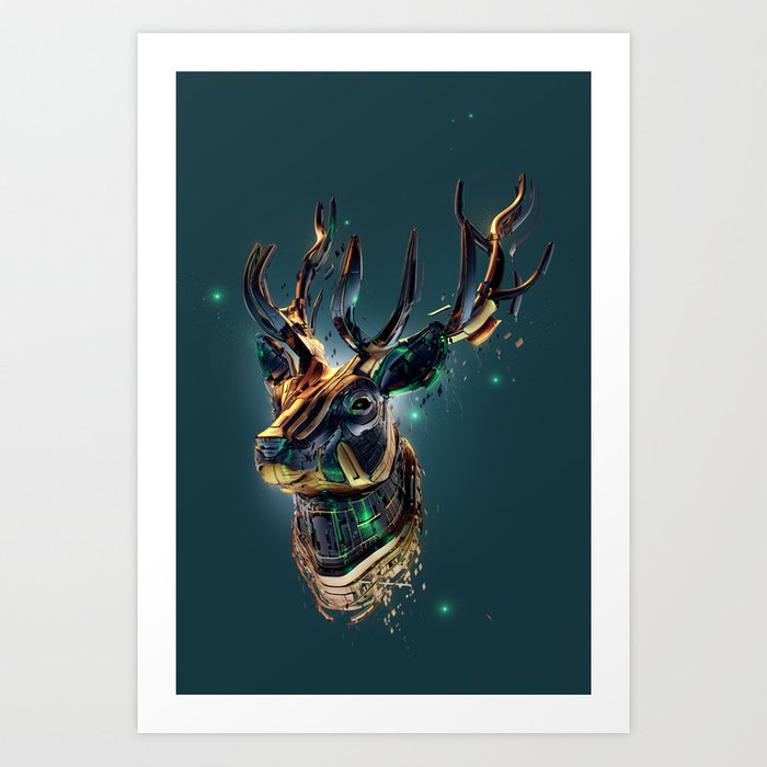 Manimals - Scythian Art Print