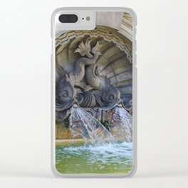 Spitting Fish Clear iPhone Case