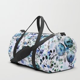 Abstract floral pattern.2 Duffle Bag
