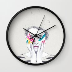 War Paint Ramona Wall Clock