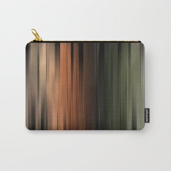 Hues of Autumn Abstract Carry-All Pouch