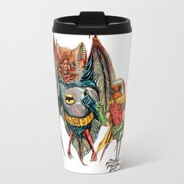 Bat and Robin Travel Mug
