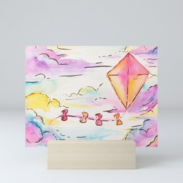 Kite Mini Art Print