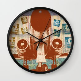 Into The Ether 430 Wall Clock