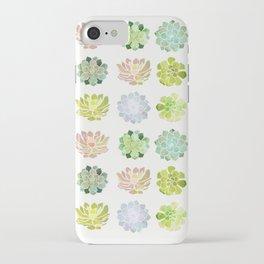 Spring Succulents iPhone Case