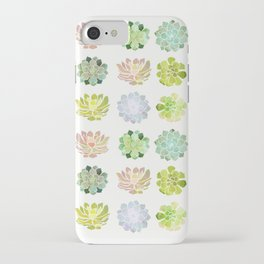 Spring Succulents iPhone Case