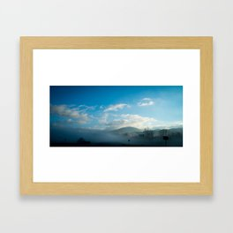 North Georgia Mountains Framed Art Print