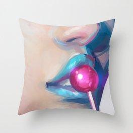 Lolipop Throw Pillow