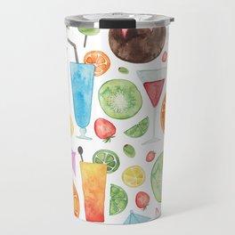 Summer Fruit Cocktail Travel Mug