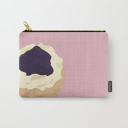 Blueberry Cream Puff Carry-All Pouch