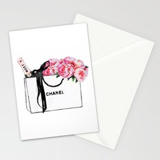 shopping and moet Stationery Cards