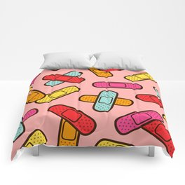 Rainbow Band-Aids Comforters