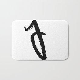 letters Bath Mat