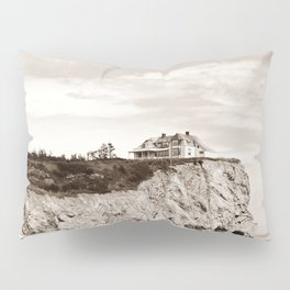 Big House on the Cliff Pillow Sham