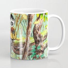 Forest Lady - Green Coffee Mug