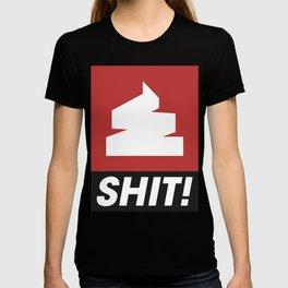 Shit logo T-shirt