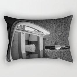 The Boat - BW Rectangular Pillow