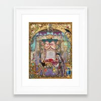 sleeping beauty Framed Art Prints featuring Sleeping Beauty by Aimee Stewart