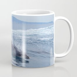 Dolphin: love for waves, love for life Coffee Mug