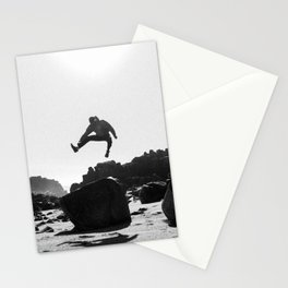 Beach Jump Stationery Cards