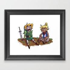 Buddies Framed Art Print