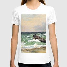 Martinus Rørbye - Fishermen from Skagen in the life boat T-shirt