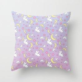 Bunny Pattern Throw Pillow
