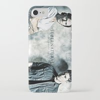 sam winchester iPhone & iPod Cases featuring Supernatural - Sam & Dean Winchester by ElvisTR