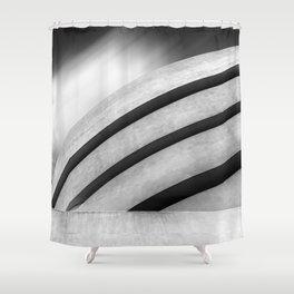 Guggenheim Museum in New York City Shower Curtain