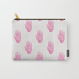 Palm Reading Chart - Pink Carry-All Pouch