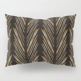 Wheat grass black Pillow Sham